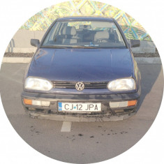 VW Golf 3 / 1.4 benzina (acte la zi, numai cu transcriere!)