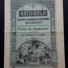 Polita de asigurare Nationala - 1941