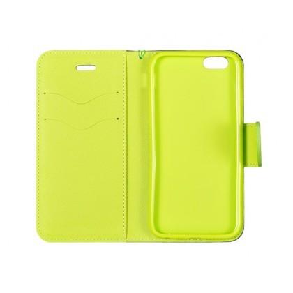 Husa Flip Fancy Samsung A205 / A305 Galaxy A20 / A30 Blue/Lime