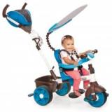 Tricicleta sport 4in1 albastru cu alb, Little Tikes