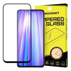 Folie Asus Zenfone 6 ZS630KL, Sticla Securizata, Super Rezistenta, Wozinsky, Case Friendly, Negru