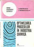 Optimizarea Proceselor In Industria Chimica - D. Todericiu