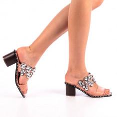 Papuci dama Alina roz