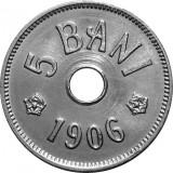 ROMANIA, 5 BANI 1906 J_UNC * cod 116.4.19