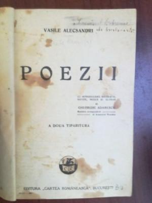 Poezii- Vasile Alecsandri A doua tiparitura foto