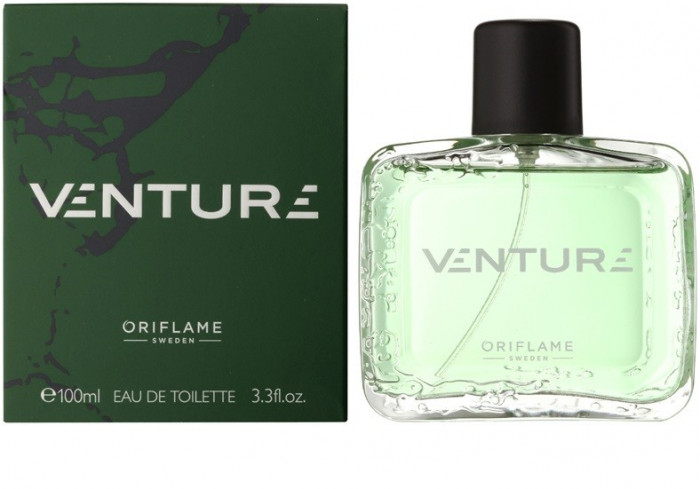 Parfum VENTURE de la ORIFLAME, 75 ml, nou, sigilat