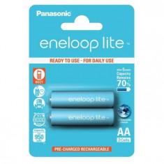 Acumulatori Panasonic Eneloop AA LITE R6 950mAh 2 Bucati / Set