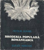 nicolae dunare broderia populara romaneasca