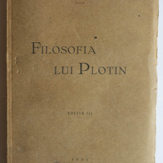 Gr. Taușan - Filosofia lui Plotin (ediția a III-a, 1931)