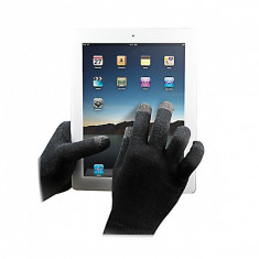 Manusi iarna Touchscreen Sensitive Muvit MUHTG0001 Marimea L  Originale, Negru