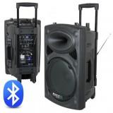Boxa portabila 15 inch/38cm 300W RMS 12/230V USB/MP3 BT Ibiza