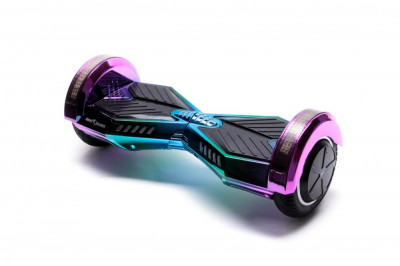 Hoverboard, Smart Balance™ Premium Brand, Transformers Dakota, roti 8 inch Bluetooth, baterie Samsung, Boxe incorporate, AutoBalans, Geanta de tran foto