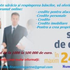 Ai nevoie de o ofertă de împrumuturi de bani urgent?