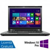 Laptop LENOVO ThinkPad T430, Intel Core i7-3520M 2.9GHz, 8GB DDR3, 240GB SSD, DVD-RW, 14 Inch, Webcam + Windows 10 Pro