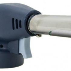Cap arzator pentru butelii gaz, portabil, negru