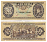 Ungaria - 50 forint - 1983 (B0042) - starea care se vede