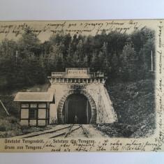 Teregova, Porta Orientalis, calea ferata Timisoara - Orsova 1905