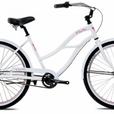 Bicicleta Oras Devron Urbio LU2.6 M 445mm Ice White 26