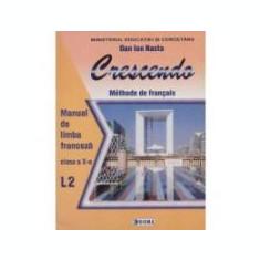 Limba franceza (L2) - Crescendo. Manual (cls. a X-a)