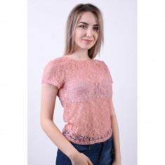 Bluza Only Nalissa Dot Lace Misty Rose