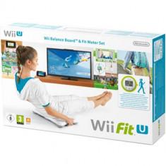 Wii Fit U + Balance Board + Fit Meter