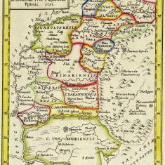 Harta Maramures, Crisana si Banat 1751 |