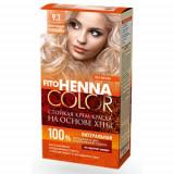 Vopsea de par permanenta fara amoniac FITO Henna Color 9.3 BLOND PERLAT