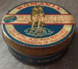 Veche cutie de tabla Caviar Romania// perioada comunista