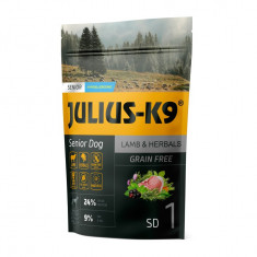 Julius K9 Senior-Miel si Ierburi - 340 g - Hrana completa super-premium,...