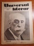 Universul literar 1 iunie 1930-maxim gorki,interviu cu poetul dumintru nanu