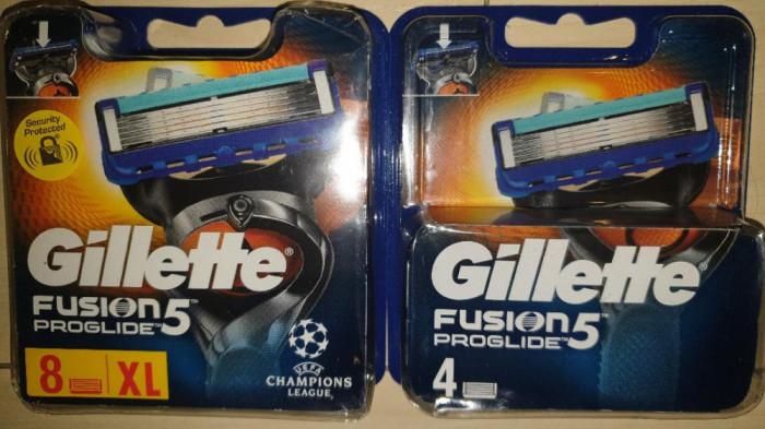 12 rezerve Gillette Fusion Proglide 2 seturi 8+4 rezerve noi