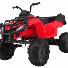 Quad de teren, electric 4x4, rosu