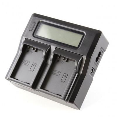 Incarcator Dste LCD dual EN-EL14 replace Nikon foto