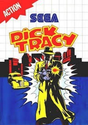 Joc SEGA Master System Dick Tracy foto