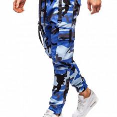 Pantaloni trening bărbați albastru Bolf 11105