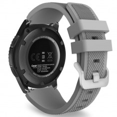 Curea silicon Tech-Protect Smoothband Samsung Galaxy Watch (46mm) Grey