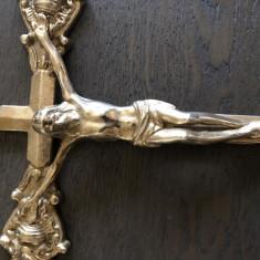 Crcifix,cruce veche ortodoxa,din bronz