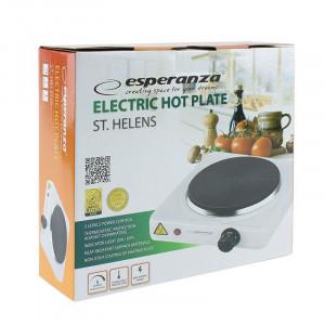 Plita electrica, 1000W, LED indicator, protectie termostatica, Esperanza Helens