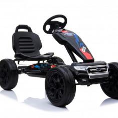 Kinderauto GO Kart cu pedale de la FORD Negru