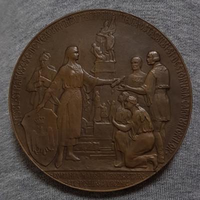 Medalie rara 1925 Ion I. C. Bratianu - per. regalista foto