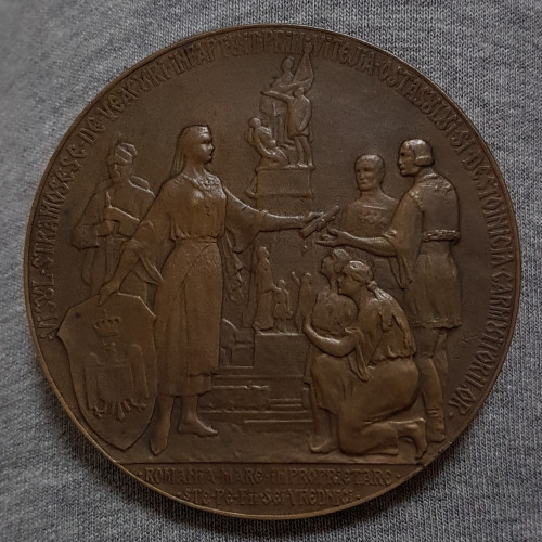 Medalie rara 1925 Ion I. C. Bratianu - per. regalista