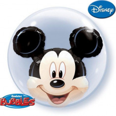Balon Double Bubble Mickey Mouse 61cm