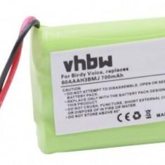 Acumulator pentru aeg birdy voice u.a. wie 60aaah3bmj 700mah, 65AAAH3BMJ, BT-C250