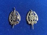 Insigne militare - Insigne România- Semne de armă- Intendență (culoare argintie)