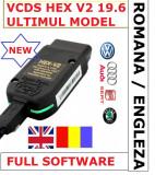Interfata auto VCDS VAG COM 20.12 Hex V2 limba Romana + Engleza
