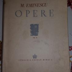 Eminescu - Opere vol.3 editia Perpessicius an1944/406pagini