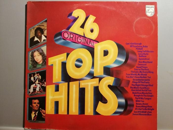 26 Top Original Hits – Selectii – 2LP Set ( 1979/Philips/RFG) - Vinil/Vinyl/NM