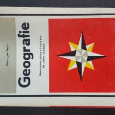 Geografie - Manual pentru clasele a V-a si a VI-a ale scolilor ajutatoare. 1978, Clasa 5