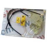 Kit reparatie macara geam fata Vw Passat B5/3B 1997-2005 electrica fata stanga (cablu role si suport geam)