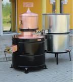 Cazan Tuica 350 Litri Exclusive 5mm + Amestecator Electric